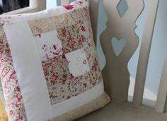 handmade patchwork valentine cushion covers - Google Search