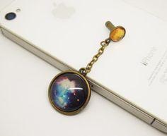 Retro Epoxy Transparent Gems Galaxy Space Cell by StudioHappyFish, $4.25