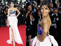 Freida Pinto at Cannes 2012