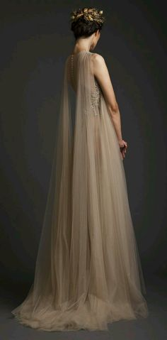 queen fearie...inspired gown