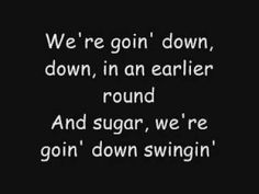 Fall Out Boy - Sugar, We're Going Down (Lyrics On-Screen + In Description)