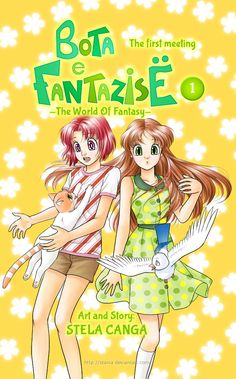 Bota e Fantazise (The World of Fantasy) - a manga by my sister. Chapter 01 Cover + patreon by starca.deviantart.com on @DeviantArt -- Read it it for free in the link.  On Facebook: https://www.facebook.com/BotaEFantazise/ On Patreon: https://www.patreon.com/starca -- (Kjo manga eshte e disponueshme dhe ne shqip - shihni komentin me poshte)