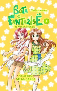 Bota e Fantazise (The World of Fantasy) - a manga by my sister. Chapter 01 Cover + patreon by starca.deviantart.com on @DeviantArt -- Read it it for free in the link.  On Facebook: https://www.facebook.com/BotaEFantazise/ On Patreon: https://www.patreon.com/starca -- (Kjo manga eshte e disponueshme dhe ne shqip - shihni komentin me poshte)