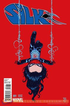 Silk #1 variant cover by Skottie Young *