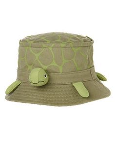Turtle Bucket Hat - Gymboree - for the boys for our sea turtle adventure later this summer!