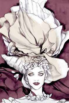 Soleil Ignacio fashion illustrations
