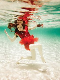Red Dress | Flickr - Photo Sharing! underwater color water