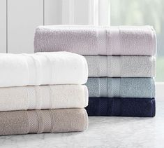 PB Organic Towels #potterybarn