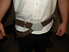 Star Wars Han Solo Belt Gun Holster: a How To - craft for cheap.