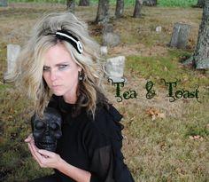 Gothic Lolita cameo headband by teaandtoastx on Etsy, $15.00