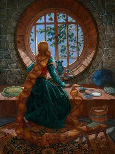 Rapunzel, Joseph Bellofatto on ArtStation at https://www.artstation.com/artwork/D5vKR