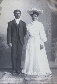 Ollie and Ed, 1900's newlyweds