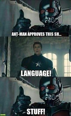 Ant Man and Avengers tumblr