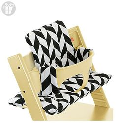 Stokke Tripp Trapp Cushion, Black Chevron (*Amazon Partner-Link)