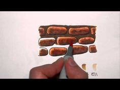 How to Colour Brick & Stone with Copic Markers