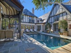 LHM Dallas/Ft. Worth - Luxury Estate #LuxuryHome #Pool #Patio #Backyard