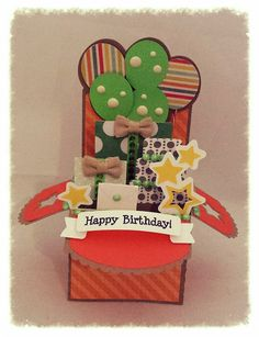 Ready Set Stamp: Birthday Box Card #svgcuts