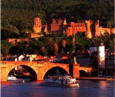 Heidelberg, Germany- Lovely:) Great memories.
