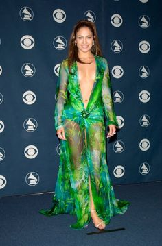 There is no forgetting Jennifer Lopez's iconic green Versace dress that she wore…