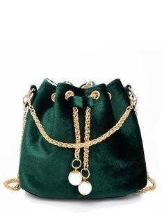 624c7840ba4 61% OFF velvet bucket bag Fashion 101, Fashion Bags, Women s Fashion  Dresses,