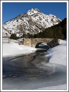 Bridge, Vall d'Incles, Andorra