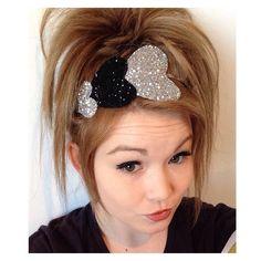 The Triple Glitter Heart headband от на Etsy Handmade Hair Bows, Diy Hair Bows, Making Hair Bows, Diy Bow, Diy Headband, Headbands, Felt Hair Accessories, Ribbon Sculpture, Glitter Hearts