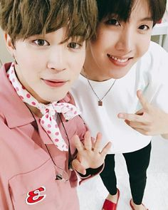 Jimin and J-hope
