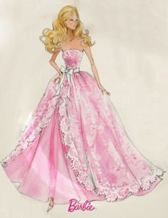 Barbie Sketch - Robert Best