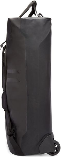 11 by Boris Bidjan Saberi Black Travel Duffle Bag
