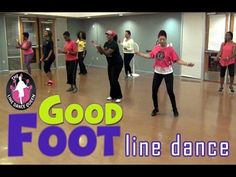 The Line Dance Queen brings you her hit line dance, Good Foot. See her Pearland class due this easy and fun dance. Its a 1 Wall Beginners line dance. Dance Class, Anchor Charts, Zumba, Line, Things That Bounce, Dancing, Hip Hop, Basketball Court, Weight Loss