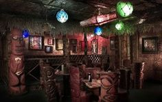 Frankie's Tiki Room   Dangerous drinks served up with fabulous tiki style.