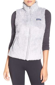 Patagonia Patagonia Los Gatos Fleece Vest available at Blazers For Women, Coats For Women, Patagonia, Vest Jacket, Hooded Jacket, Grey Outfit, Womens Workout Outfits, Long Sleeve Shirt Dress, Outdoor Outfit