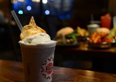 Description of . A Tahitian vanilla bean shake made with organic ice cream is garnished with a toasted homemade marshmallow at Roam Artisan ...