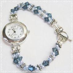 Swarovski bead watch