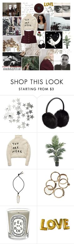 """- ̗̀ did you ever see the faces of the children? they get so excited // SECRET SANTA GIFT  ̖́-"" by relephant ❤ liked on Polyvore featuring H&M, Ted Baker, Lanvin, Diptyque, Topshop and laezypeach"