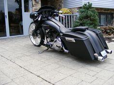 2000 Ultra Glide EFI Custom Bagger Pro Street Air Ride 26 inch Wheel   eBay