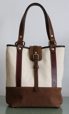 Amazing bag made here in Montreal! Sac de marché Collection Croisière 2012 by FletcherKimberly, $245.00