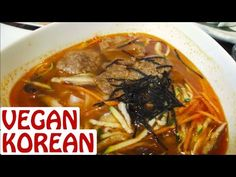 Awesome vegan Korean food if you're in New York :)
