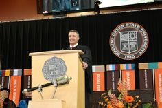 Crawford addressed graduates of the Arts and Science colleges during the Saturday morning (May 7) commencement ceremony at the Stroh Center.