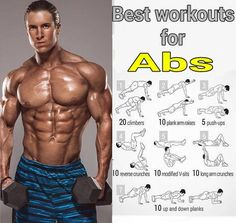 Don't you wanna get fit before being fashionable? Here i present a list of best workout for abs Abs Workout Routines, Gym Workout Tips, Plank Workout, Fun Workouts, At Home Workouts, Workout Abs, Workout Quotes, Workout Fitness, Body Fitness
