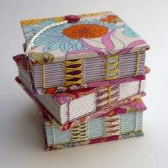 Mini Floral Notebooks by Kate Bowles