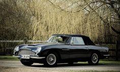 Left-hand drive,1968 Aston Martin DB6 'MkI' Volante Convertible, Sold for £460,700 inc. premium