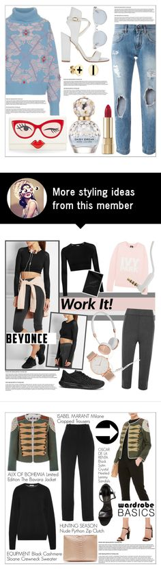 """""""OOTD 2004.16"""" by martso on Polyvore featuring Barrie, Dolce&Gabbana, Kate Spade, Paul Andrew, Marc Jacobs, Sydney Evan, Sun Buddies, outfit, look and ootd"""