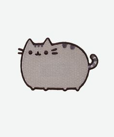 Pusheen The Cat 3in Iron-On Patch, $5 via HeyChickadee.Com --- I love how much Pusheen looks like my little grey cat, Miss Rita Hayworth! (PRICE NOTE: Remember to compare prices on all Pusheen merchandise between HeyChickadee.Com and Amazon.Com before buying to find the lowest one!)