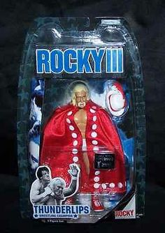 Rocky III Thunderlips Wrestler Hulk Hogan action figure Jakks Pacific New MOC