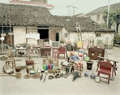 Portraits of Chinese Families Posing with Everything They Own By Huang Qingjun