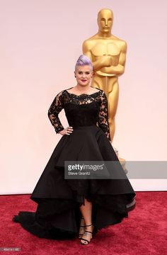 TV personality Kelly Osbourne attends the 87th Annual Academy Awards at…