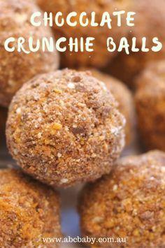 Chocolate Crunchie Balls - ABC Blog - Australian Baby Card
