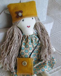 Rag Doll cloth doll mayflair Folksy