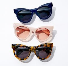 The official home of all things Karen Walker. Discover the latest Karen Walker clothing, eyewear, jewellery, fragrance and accessories. Cool Sunglasses, Sunnies, Jewelry Tattoo, Karen Walker, Clip On Earrings, Eyewear, Eye Candy, Autumn Fashion, My Style